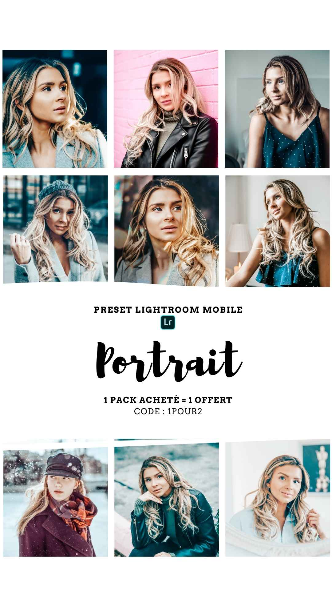 Pack Preset – PORTRAIT