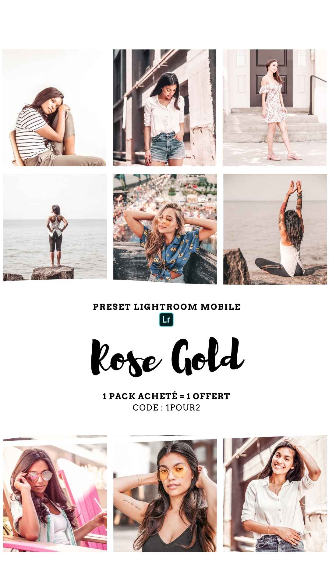 Pack Preset – ROSE GOLD