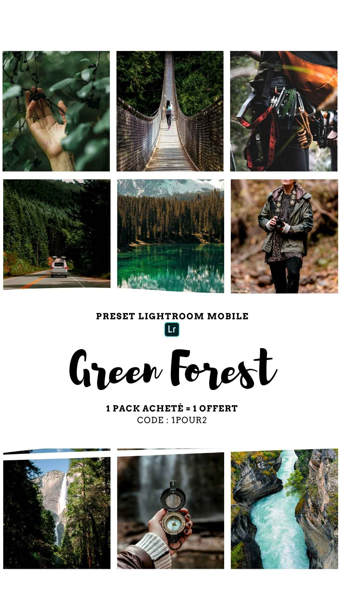 Pack Preset  – GREEN FOREST