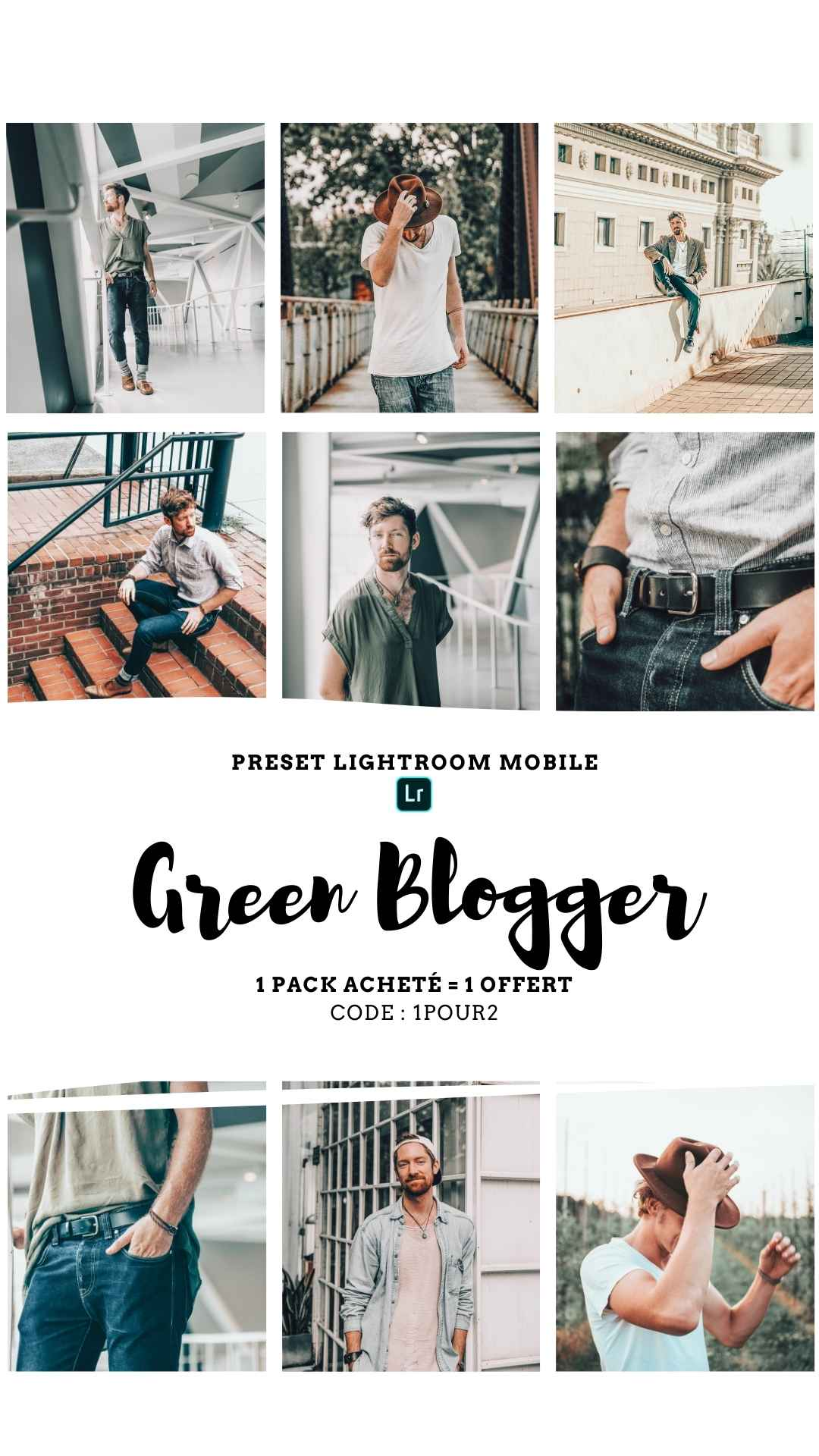 Pack Preset – GREEN BLOGGER