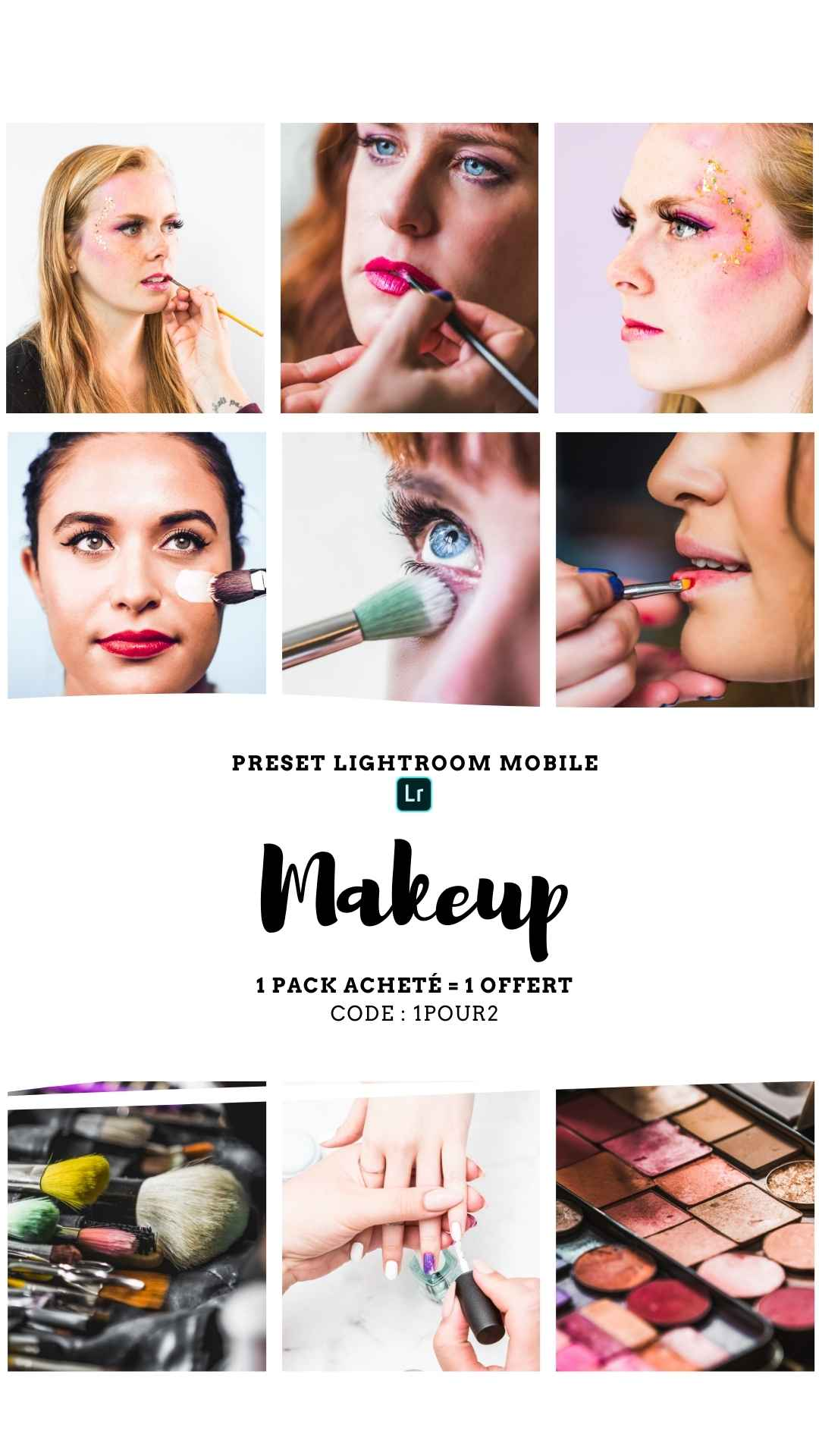 Pack Preset – MAKEUP