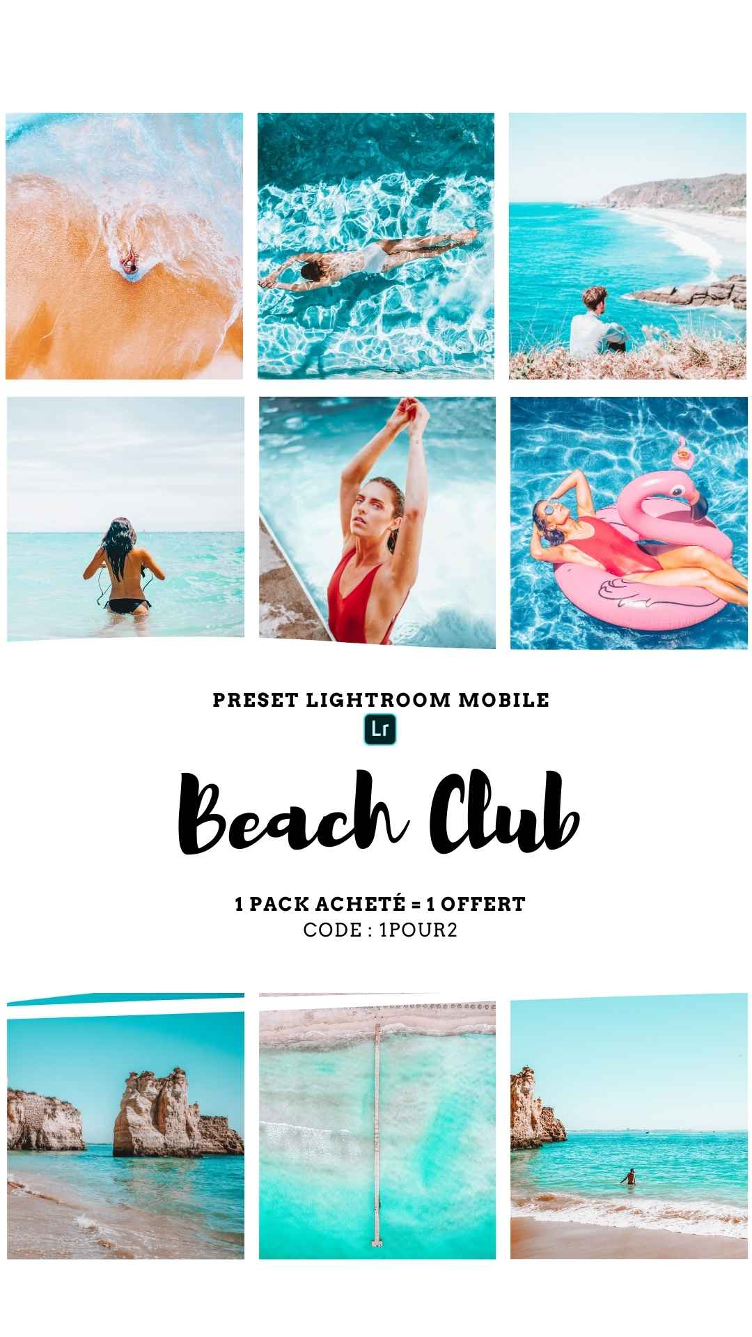 Pack Preset – BEACH CLUB