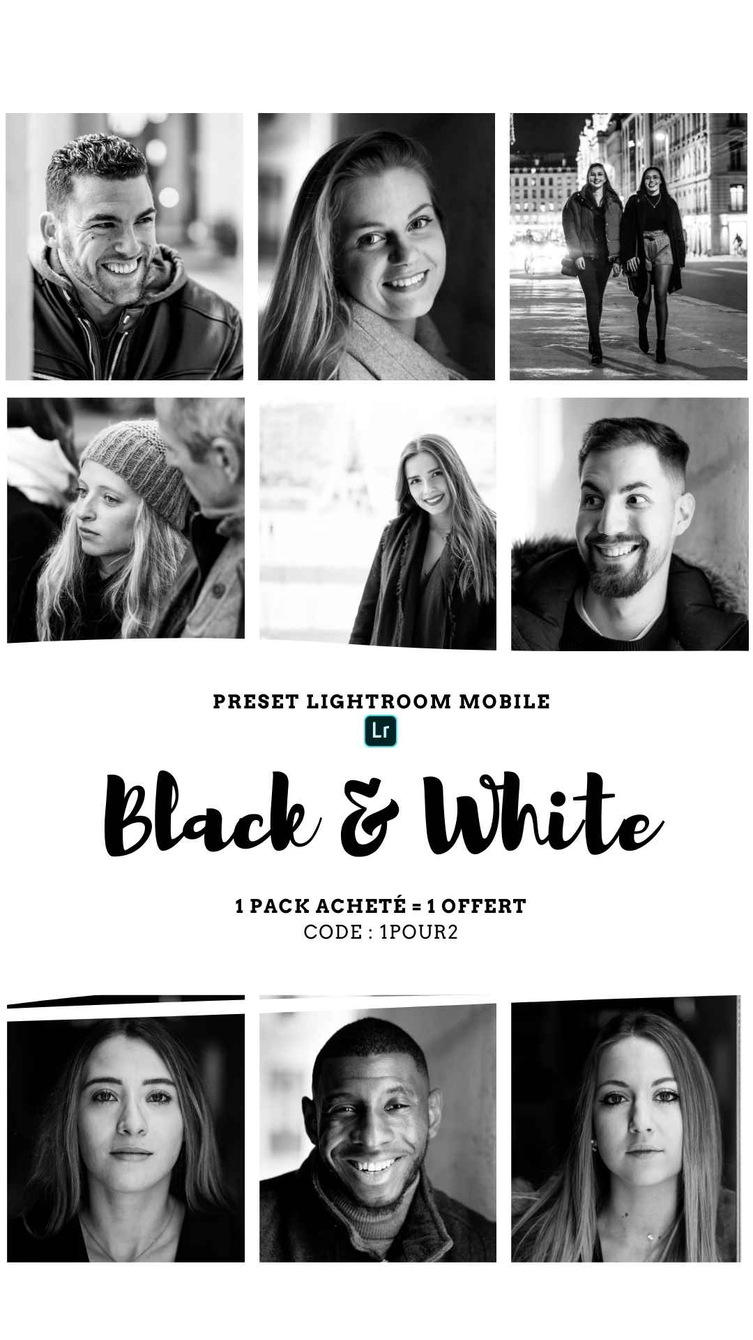 Pack Preset – BLACK & WHITE